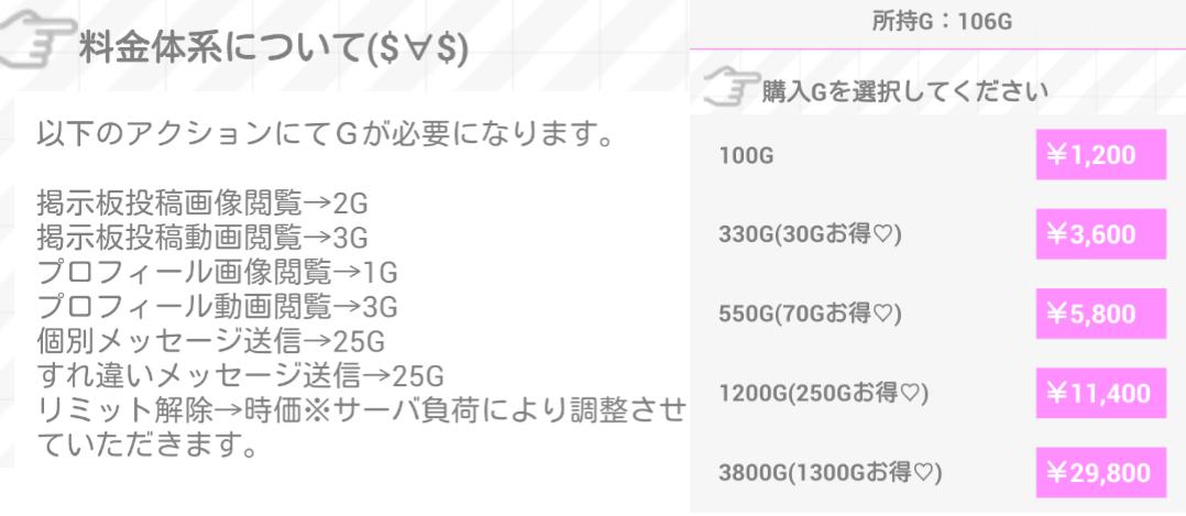 カップルチャット登録無料の友達探しSNS料金表