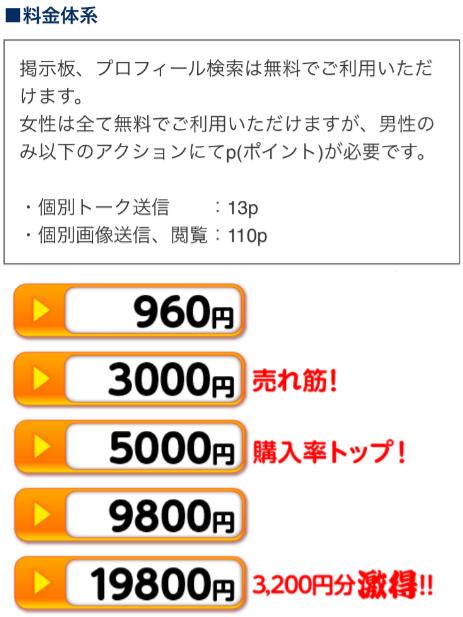 出会いアプリ【夜トモ】はチャットで遊びながら無料ご近所掲示板で会える!料金表