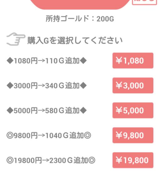 危険な出会い系アプリ「なかよしBOX」料金一覧