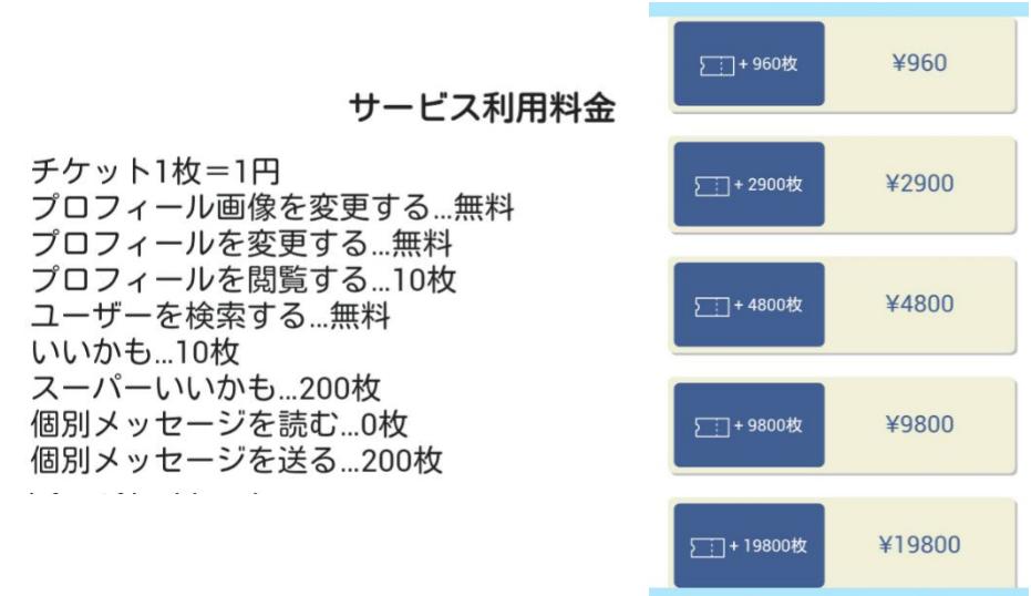 危険な出会い系アプリ「友達ネット」料金表