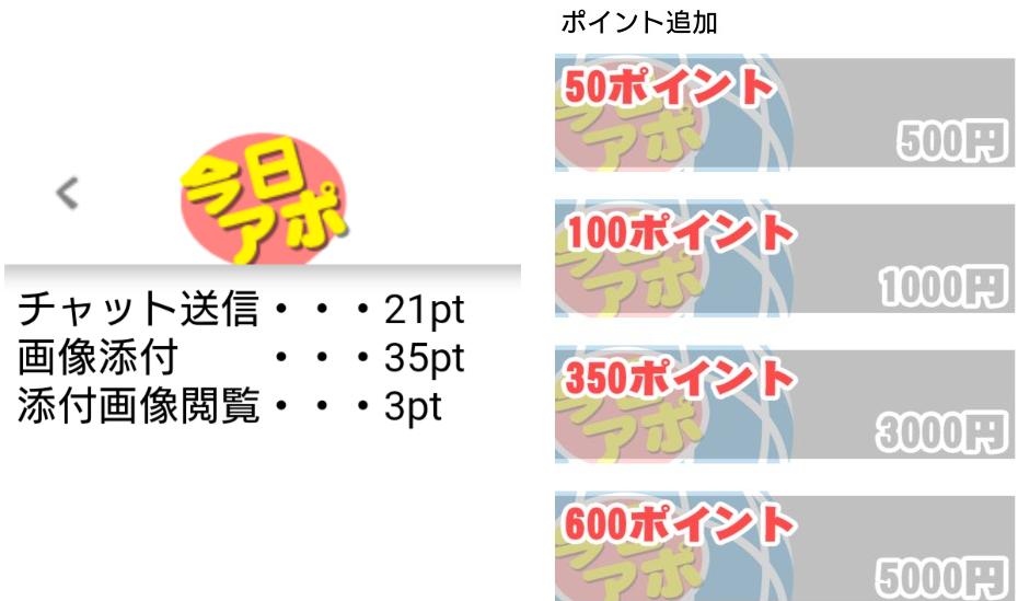 無料の出会系アプリ【今日アポ】料金