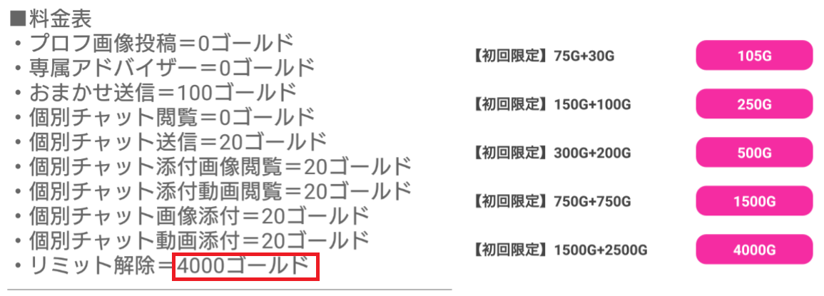 Dearest - ディアレスト【モア公式】料金