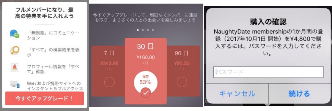 naughtydate – このデートアプリで本物の相手を見つけよう料金