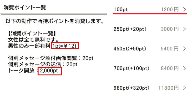 詐欺出会い系アプリ「SG]料金