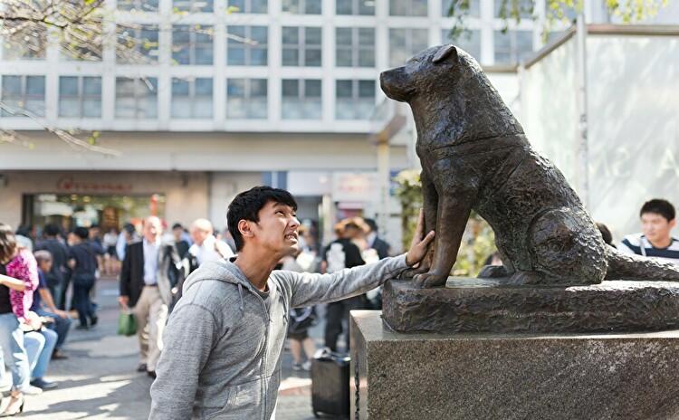 渋谷ハチ公での待ち合わせ